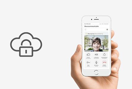 Mobiele deurcommunicatie
